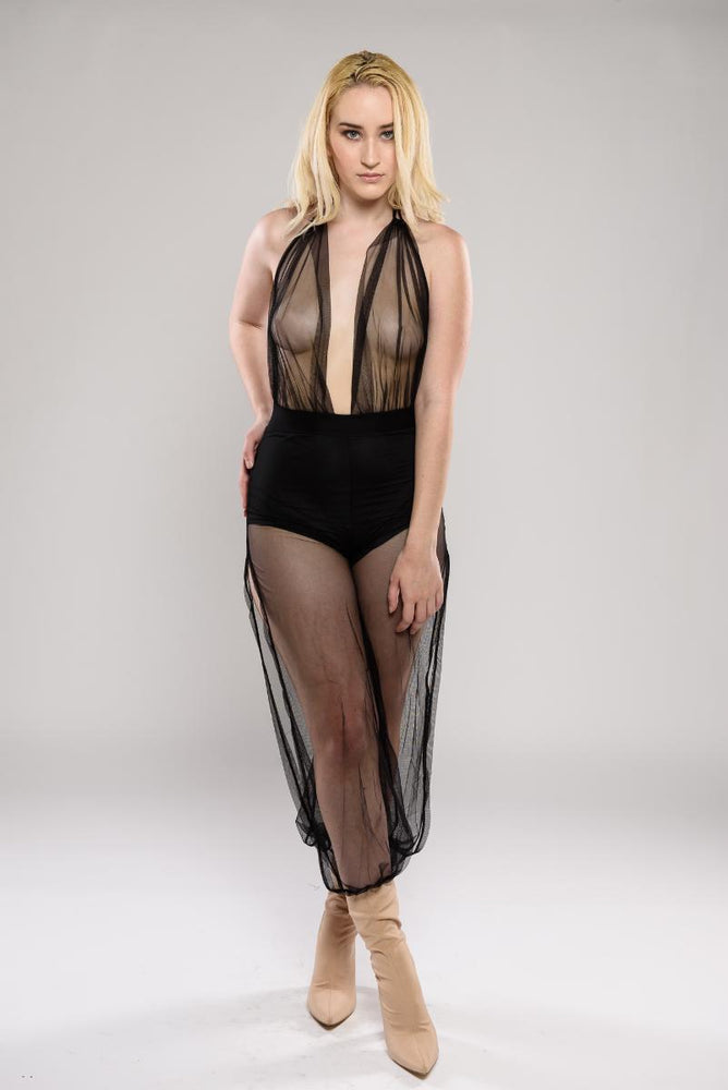 Juliet see through jumpsuit