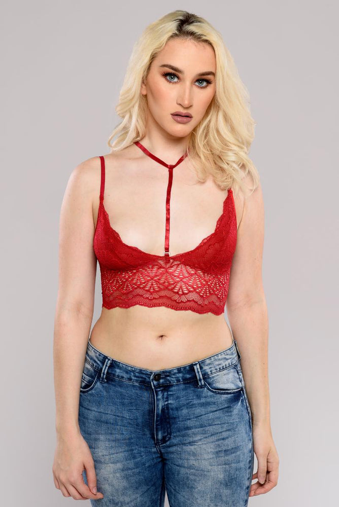 Red neck hooker Bralette