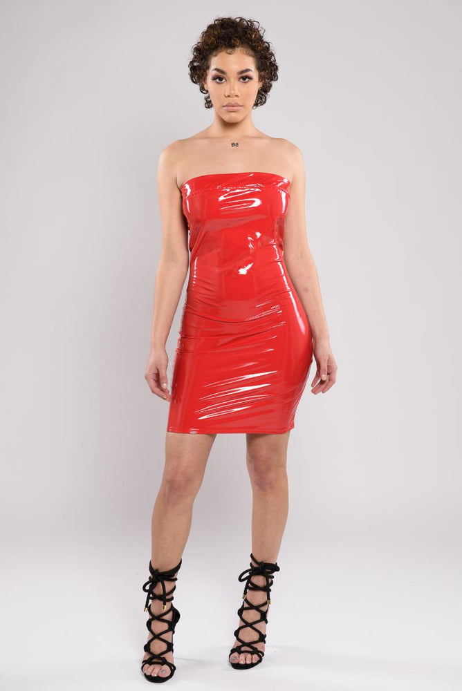 Ruby Sexy PU Dress