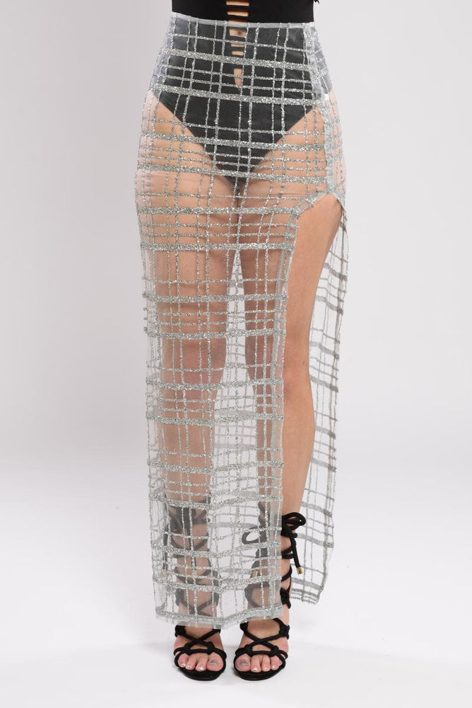 Quinn See-Through Skirt