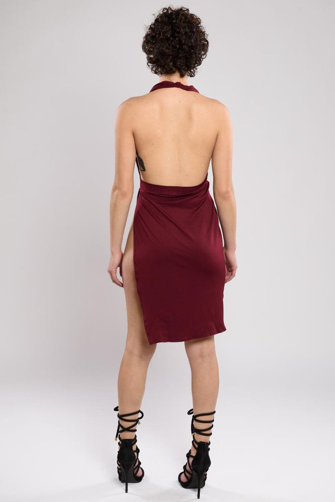 Anne backless dress