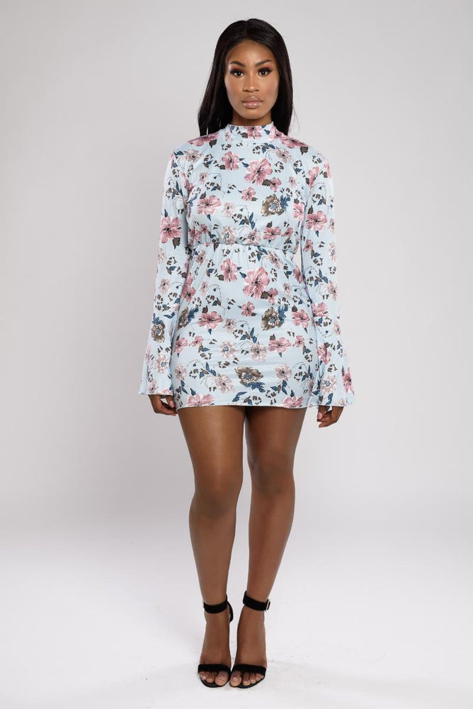 Janiya Floral Backless Dress