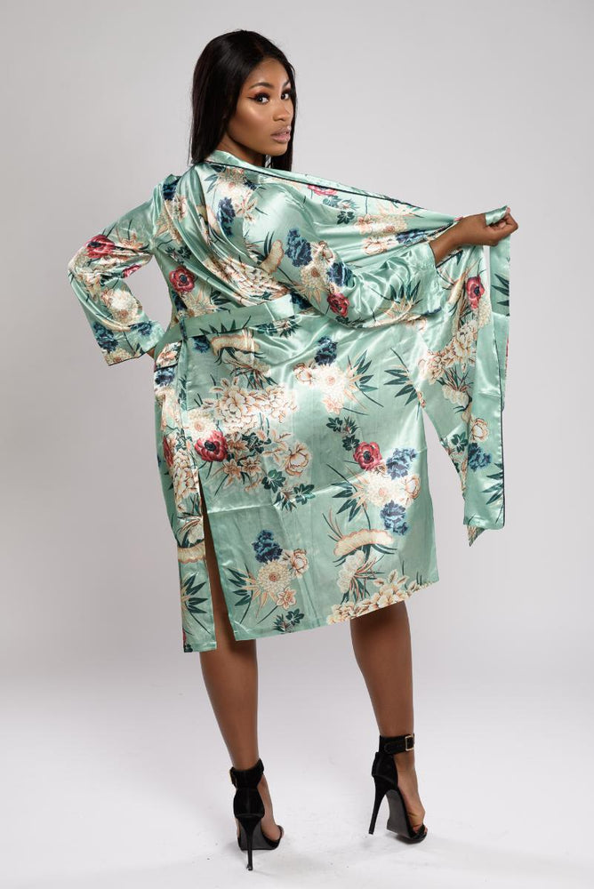 Luna Maxi Night-Robe With Waistband