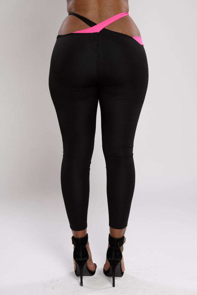 Poala Hollow out leggings