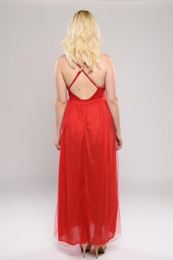 Nina cross-back dress