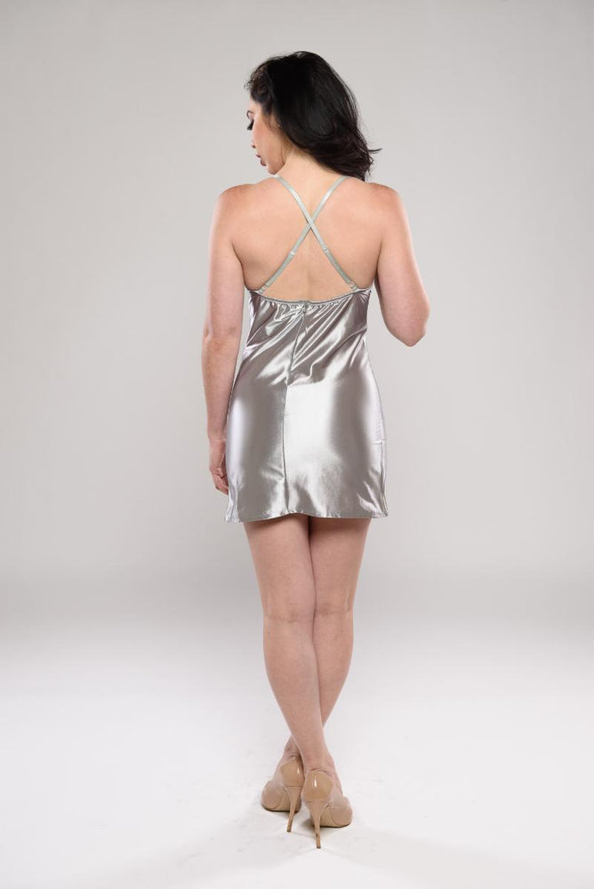 Alima shinny mini dress