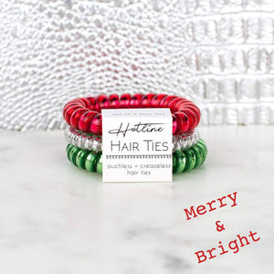 Hotline Hair Ties Merry & Bright Set