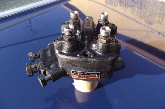 Saab VW Audi Fuel Distributor | Bosch 0438100058 | 4000 Fox Dasher Rabbit