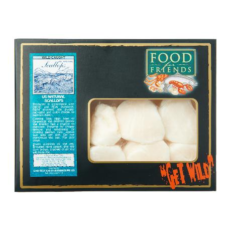 Wild Caught Natural Scallops