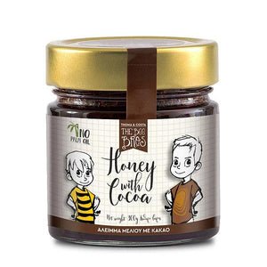 Greek Honey with Cocoa Spread