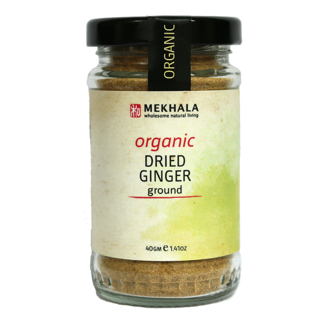 Organic Dried Ginger Ground