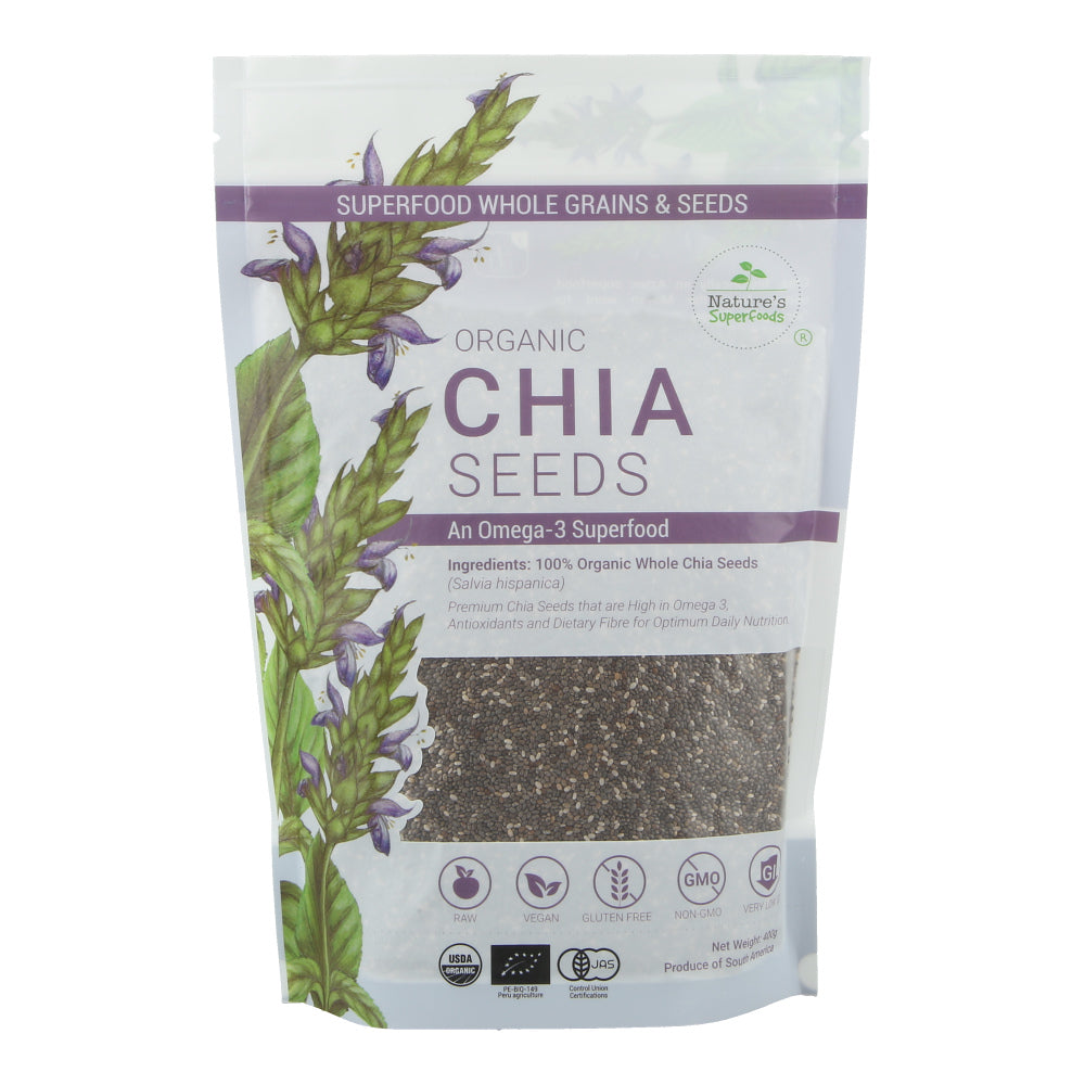 Organic Black Chia Seeds