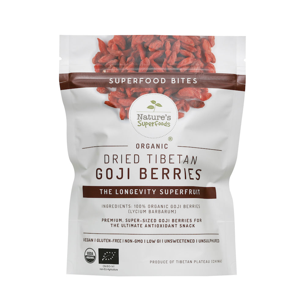 Organic Dried Tibetan Goji Berries