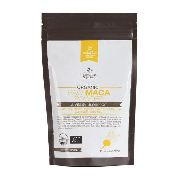 Organic Raw Maca Root Powder