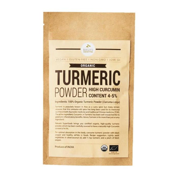 Organic Turmeric Powder (Higher Curcumin)