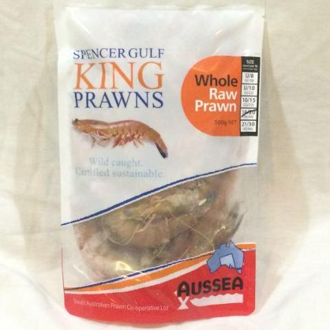 Wild Caught King Prawns