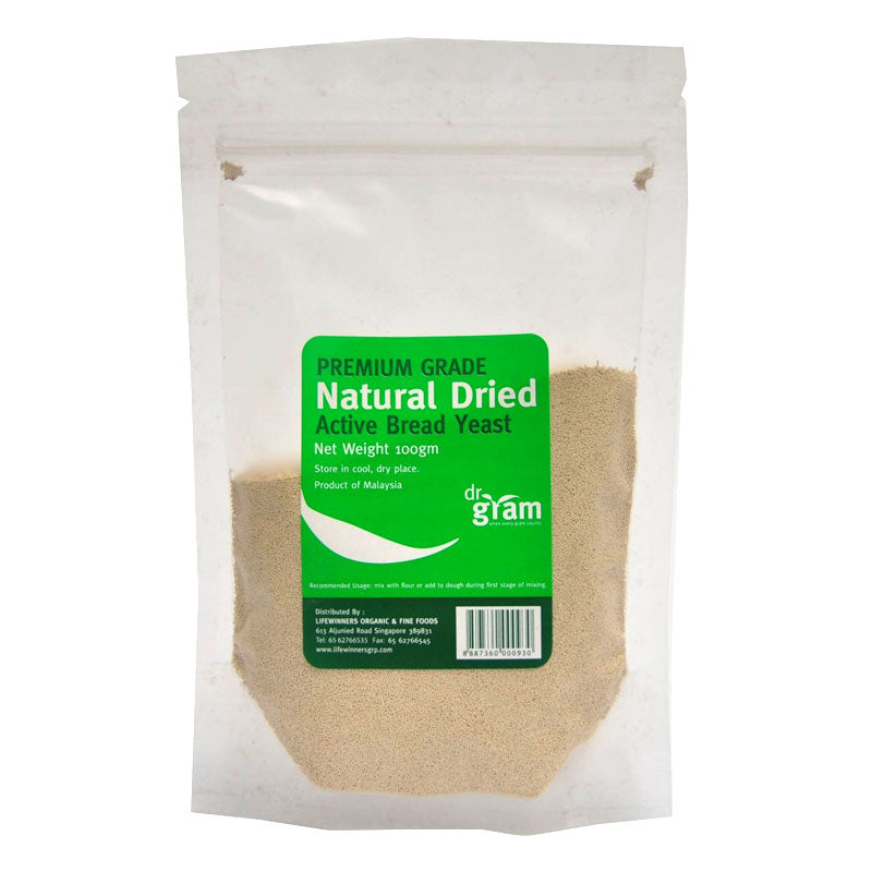 Natural Dried Active Bread Yeast