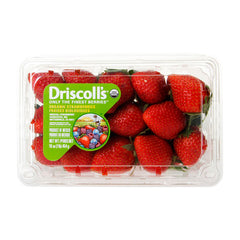 Organic Strawberries 454g