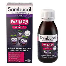 Black Elderberry Liquid for Kids