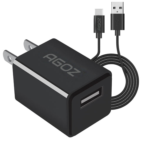 Fast Charger Adapter with USB C Cable for LG