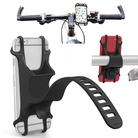 Silicone Bike Phone Holder Mount