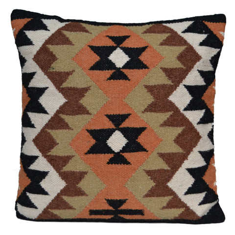 "Handmade Kilim Cushion Covers 20"" 50cm Green"