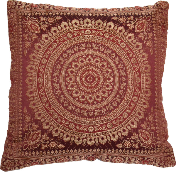 Banarasi Mandala Cushion Covers - DesignsEmporium