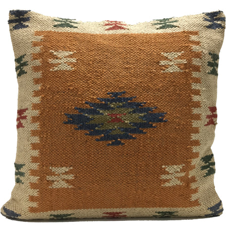"Handmade Kilim Cushion Covers Diamond Moroccan 24"" 60cm"