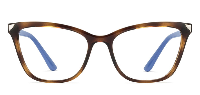 Vogue VO5206 Medium (Size-53) Tortoise Purple W656 Women's Eyeglasses