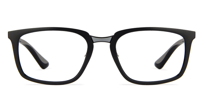 Ray-Ban RX7148 Medium (Size-52) Black Grey 2000 Unisex Eyeglasses