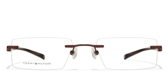 Tommy Hilfiger TH5541 Medium (Size-51) Brown C19 Unisex Eyeglasses
