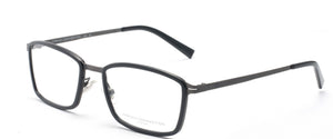 FCUK FC-8064-C1 Matte Black Rectangle Eyeglasses
