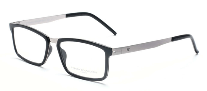 French Connection FC-8063-C4 Red Rectangle Eyeglasses