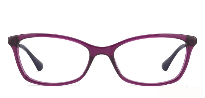 Vogue VO5042 Medium (Size-53) Purple Golden Purple Women Eyeglasses