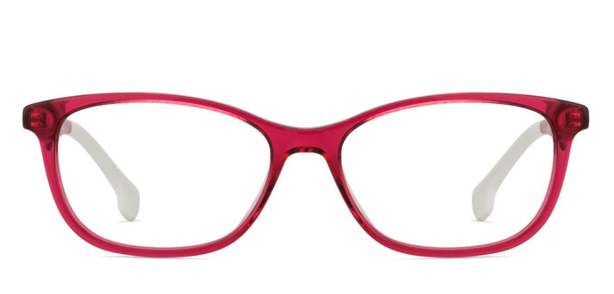 Carrera CARRERAINO 65 Medium (Size-50) Maroon Transparent White 8CQ Women Eyeglasses