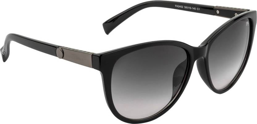 Farenheit UV Protected Oval Women's Sunglasses - (FA-2402-C1)