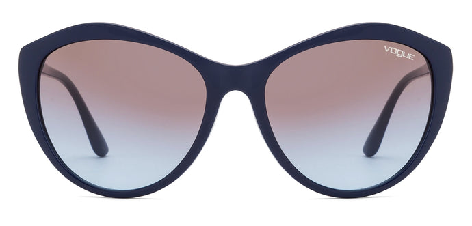Vogue VO5183SI Large (Size-58) Blue Brown Blue Gradient 258048 Women Sunglasses