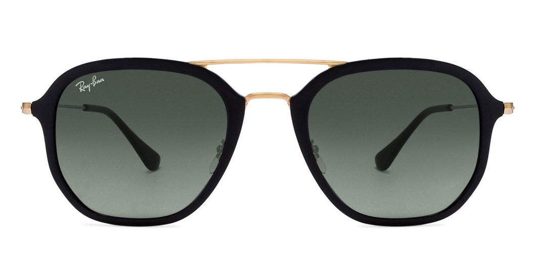 Ray-Ban RB4273 Medium (Size-52) Golden Black Blue Green Gradient 601/71 Unisex Sunglasses