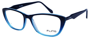 Fling Rimmed Cateye Women's Eyeglasses- (2032_F5|51 mm)