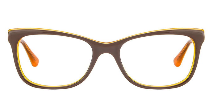 Vogue VO2763 Medium (Size-53) Brown Orange Women Eyeglasses