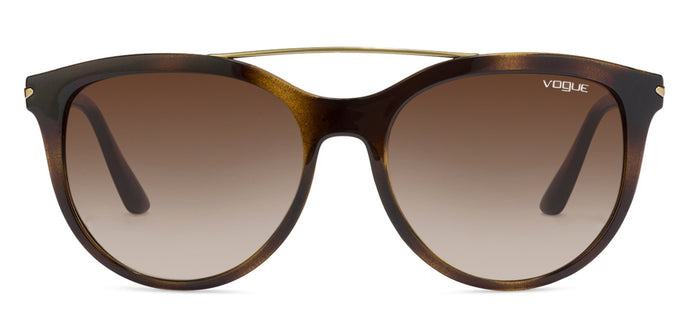 Vogue VO5134 Tortoise Golden Tortoise Brown Gradient W65613 Women Sunglasses