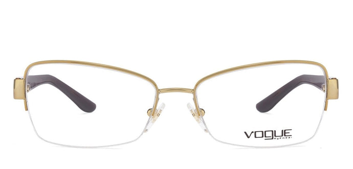 Vogue VO4016 Medium (Size-51) Golden Tortoise 848 Women Eyeglasses