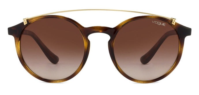 Vogue VO5161 Medium (Size-51) Golden Tortois Brown Gradient W65613 Women Sunglasses