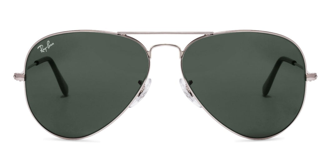 Ray-Ban RB3025-58 Large (Size-58) Silver Grey Unisex Sunglasses