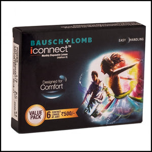 Bausch & Lomb iConnect 6 Lens Box Contact Lens