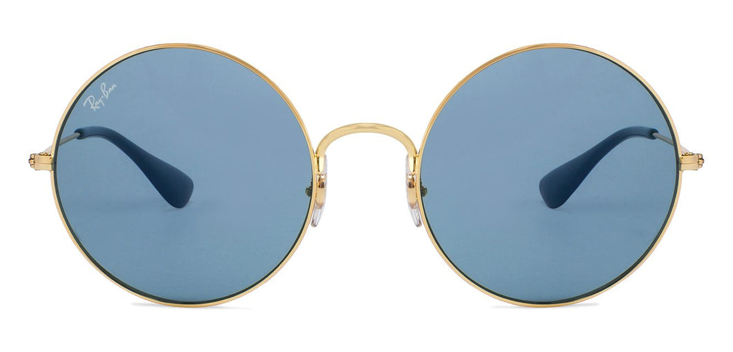 Ray-Ban RB3592 Large (Size-55) Golden Blue Unisex Sunglasses