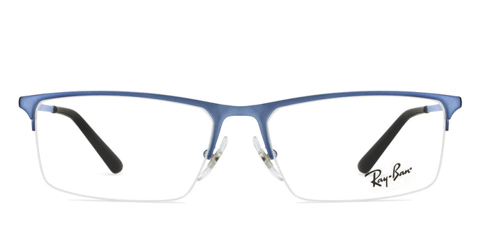 Ray-Ban Rx6391 Medium (Size-55) Blue Black 2928 Unisex Eyeglasses