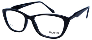 Fling Rimmed Cateye Women's  Eyeglasses - (2032_F1|51 mm)