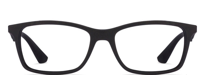 Ray-Ban Rx7047 Medium (Size-54) Black 5196 Unisex Eyeglasses