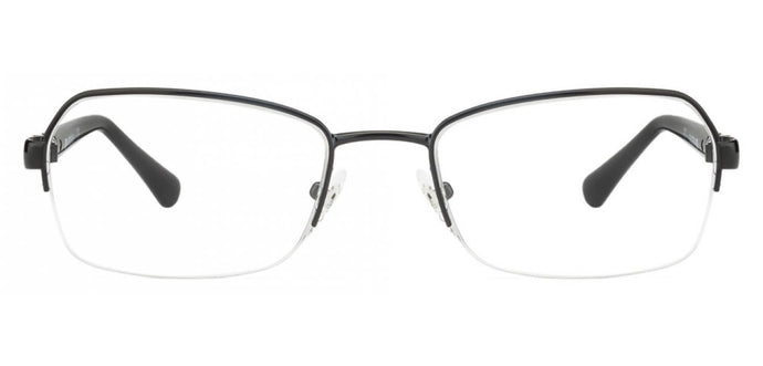 Vogue VO3971 Medium (Size-51) Black Women Eyeglasses